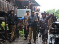 Bupati Bantaeng Pantau Titik Rawan Banjir di Bantaeng