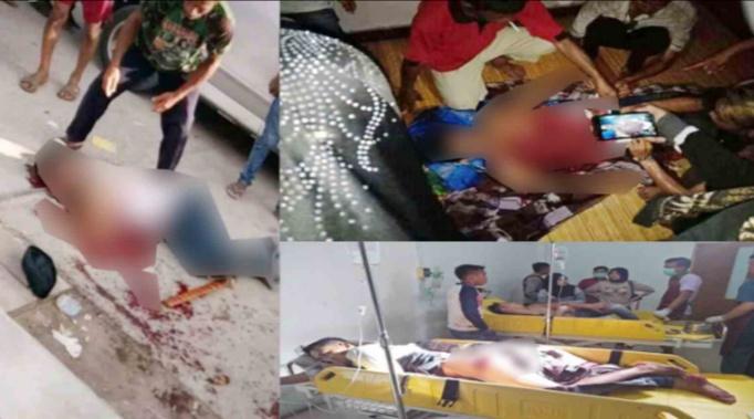 Pelaku dan Korban pasca perkelahian yang menewaskan satu orang (Foto: Polewaliterkini)