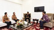 Kakanwil Bea Cukai Sulbagsel Kordinasi ke Gubernur Sulsel, Nurdin Abdullah.