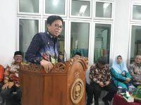Wakil Bupati Bulukumba, Tomy Satria Yulianto di Acara Ramah Tamah KSP Berkat Bulukumba, Minggu (24/2/2019).
