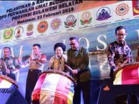 Pelantikan Pengurus DPW WALUBI Sulsel, di Hotel Gammara Makassar, Sabtu (23/2).