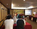 """Tim pemenangan """"4.4 Appakate'ne"""" dari Caleg Partai Golkar, Suarni menggelar Bedah Pemilih dan Pemetaan Suara, Makassar (18/3/2019)."""