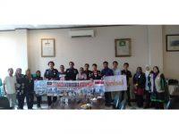 Lapenmi PB HMI Terima Kunjungan Mahasiswa Malaysia