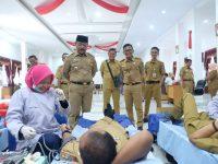 Donor Darah yang digelar Pemkab Gowa