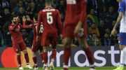 Liverpool Rayakan Gol Mohamed Salah (c) AP Photo