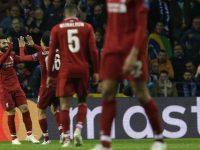 Liverpool Rayakan Gol Mohamed Salah (c) AP Photo