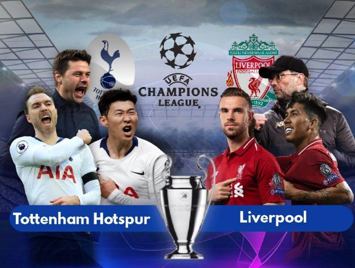 Tottenham Hotspur dan Liverpool akan bertemu pada partai final di Stadion Wanda Metropolitano, Madrid, pada Ahad dini hari, 2 Juni 2019.