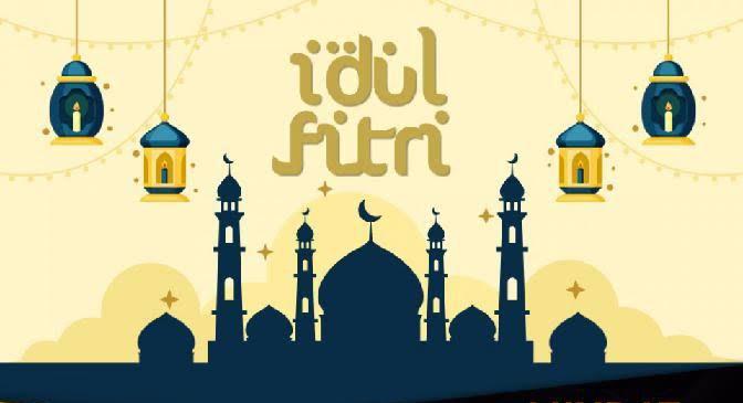 Ilustrasi Hari Raya Idul Fitri.