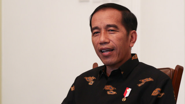 Presiden Jokowi (Foto: kumparan)