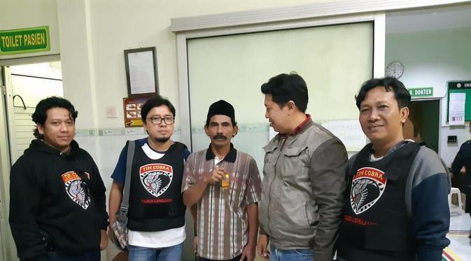 Suami gadai istri sekaligus pelaku pembunuhan ditangkap (Liputan6.com/Dian Kurniawan)