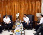 Bawaslu Kota Makassar menemui Pj Wali Kota Makassar, di Rujab Wali Kota Rabu (19/06/19)