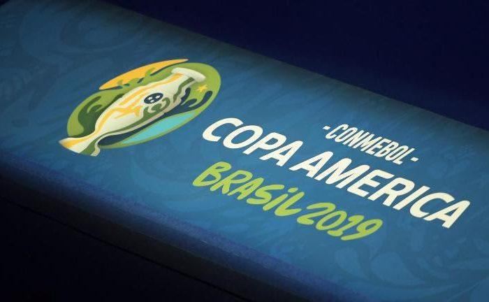 Logo Copa America Brasil 2019