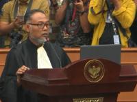 Foto: Ketua Tim Hukum Prabowo-Sandi, Bambang Widjojanto (BW) saat sidang MK / Youtube MK