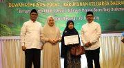 Halal Dewan Pimpinan Pusat Kerukunan Keluarga Daerah Barru (DPP KKDB) yang berlangsung di Hotel Claro Makassar, Minggu (16/6/2019) malam.
