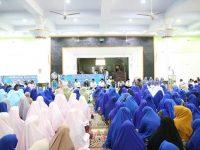 Halal Bihalal Pemkab Barru yang berlangsung di Masjid Agung Nurul Iman Kab. Barru, Rabu (19/6/2019).