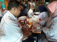 Dinas Perhubungan dan Satpol PP Kota Makassar di Rumah Makan Torani, Jalan Urip Sumihardjo, Rabu (12/6/2019).