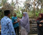 Hasnah Syam kunjungi korban kebakaran di Barru.