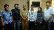 Pengurus Wilayah Serikat Mahasiswa Muslimin Indonesia (SEMMI) Sulawesi Selatan melakukan audiensi dengan Pemprov Sulsel.