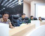 rapat persiapan launching Gema Sabtu Bersih yang digelar di ruang Sipakatau, Balai Kota Makassar.