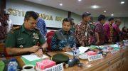 Rakornis TMMD (TNI Manunggal Membangun Desa) ke-105 Tahun 2019.