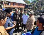 Lokasi Kebakaran yang terjadi di Dusun Ajjakkang Kec. Soppeng Riaja, Barru.