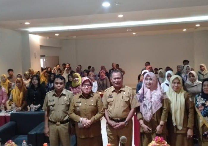 Bimbingan Sosial penyelenggara pengumpul sumbangan sosial berhadiah di Hotel D'Maleo Makassar, Senin (24/6/2019).