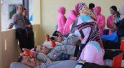 Dalam rangka menyambut HUT Bhayangkara ke-73, Kepolisian Resort (Polres) Bulukumba, menggelar kegiatan bakti kesehatan donor darah.