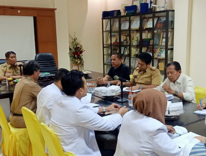 Bupati Bulukumba Gelar Rapat Koordinasi dengan Jajaran RSUD.