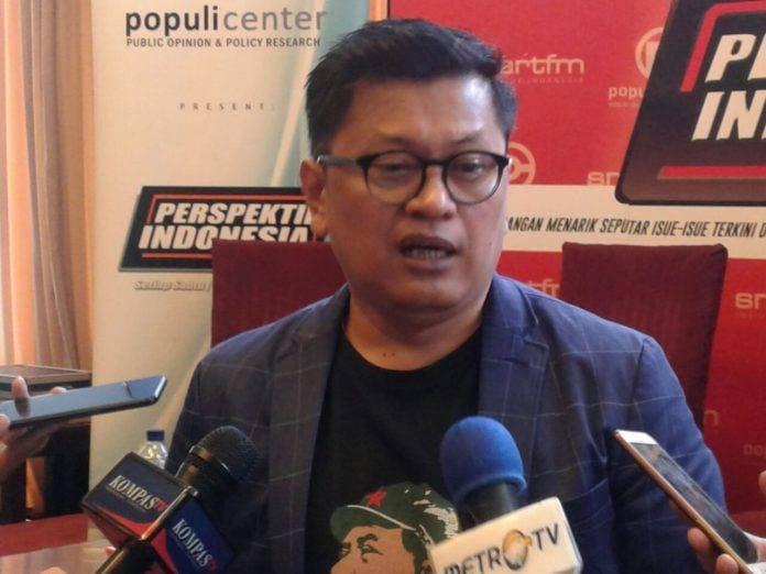 Foto: Syamsuddin Radjab (Direktur Eksekutif Jenggala Center)