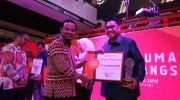 Humas Pemkot Makassar raih penghargaan di ajang Humas Sulsel Expo 2019.