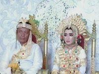 Pernikahan perempuan kelas 1 SMP dengan pria 41 tahun di Sidrap (Foto: Ist)