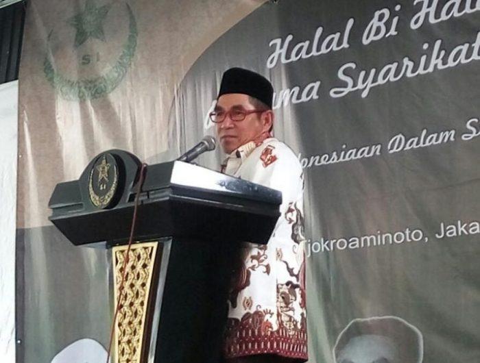 Hamdan Zoelva Hadiri Halal Bihalal Syarikat Islam.