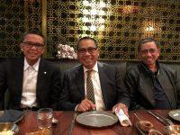 Gubernur Sulsel, Nurdin Abdullah bersama Bupati Kabupaten Wajo Amran Mahmud dan Duta Besar Indonesia untuk Kerajaan Belanda, I Gusti Agung Wesaka Puja. (Foto: Ist)