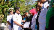 peringatan Hari Anti-Narkoba Internasional (HANI), di Lapangan Rujab Gubernur Sulsel, Rabu (26/6).