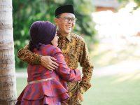 Nurdin Abdullah dan Liestiaty F Nurdin. (Instagram/nurdin.abdullah)