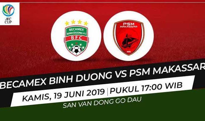 Becamex Binh Duong vs PSM Makassar bakal berlangsung di Go Dau Stadium, Vietnam, Rabu besok (19/06/19),