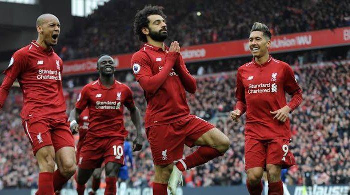 Selebrasi Mohamed Salah (Foto: AP Photo)