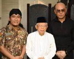 Deddy Corbuzier, KH. Maruf Amin dan Gus Miftah (Seno/tabloidbintang.com)
