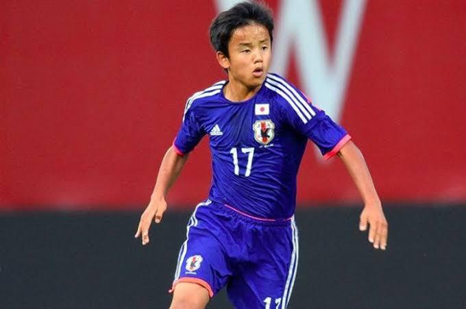 Wonderkid berjuluk 'Messi' Jepang, Takefusa Kubo dari FC Tokyo.