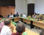 Sekda Kota Makassar M Ansar memimpin rapat pemantapan kegiatan Makassar Damai untuk Indonesia, Jumat (21/6/2019) kemarin. (Pemkot Makassar) - Pemkot Makassar