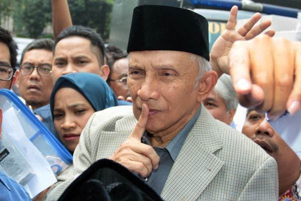 Ketua Dewan Kehormatan PAN, Amien Rais