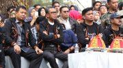 Nampak M Iqbal S Suhaeb, Nurdin Abdullah dan Adnan Purichta Ichsan menikmati agenda Beautiful Malino 2019.