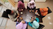 Ilustrasi poligami. (SAEED KHAN/AFP)