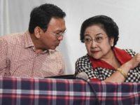 Basuki Tjahaja Purnama (Ahok) dan Ketua Umum PDIP Megawati Soekarnoputri