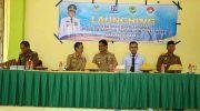 Launching penyaluran Bantuan Sosial Program Bantuan Pangan Non Tunai (BPNT).