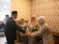 Suardi Saleh Terima Kunjungan Pejabat Baru Kepala BPN Barru