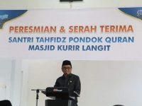 Bupati Barru Resmikan Pondok Qur'an Kurir Langit