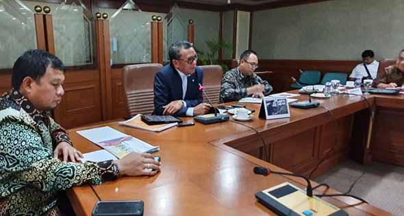 Gubernur Sulsel, Nurdin Abdullah Memaparkan Konsep Pembangunan Sulsel di BPPT
