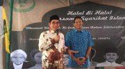 Halal Bihalal Syarikat Islam di Rumah Kebangsaan HOS Tjokroaminoto, Jalan Taman Amir Hamzah Nomor 2, Pengangsaan, Menteng, Jakarta Pusat, Minggu (30/6/2019).
