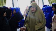 Hasnah Syam Hadiri Pelantikan Kelompok Pengajian Nurul Huda tingkat Dusun se-Kecamatan Pujananting